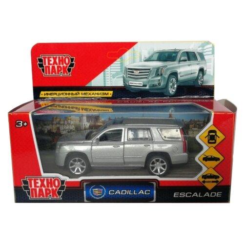 Внедорожник ТЕХНОПАРК Cadillac Escalade (ESCALADE-BK/SL/WT) 12 см серебристыйМашинки и техника<br>