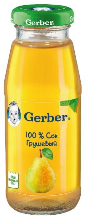 Сок Gerber Грушевый, c 4 месяцев