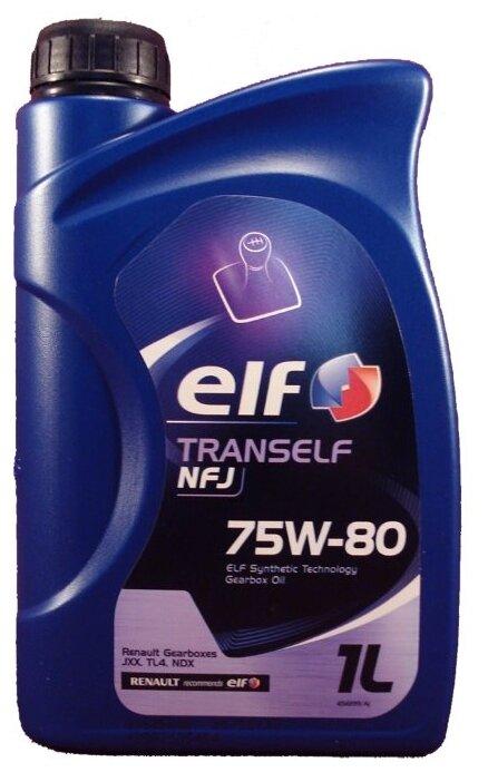 Масло трансмиссионное ELF Tranself NFJ 75W80 GL-4 1L