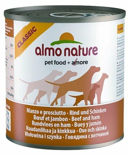 Корм для собак Almo Nature Classic говядина 12шт. х 290г