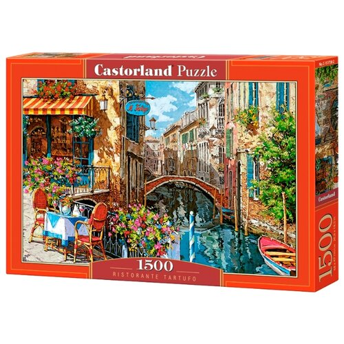 Купить Пазл Castorland Ресторан (C-151738), 1500 дет., Пазлы