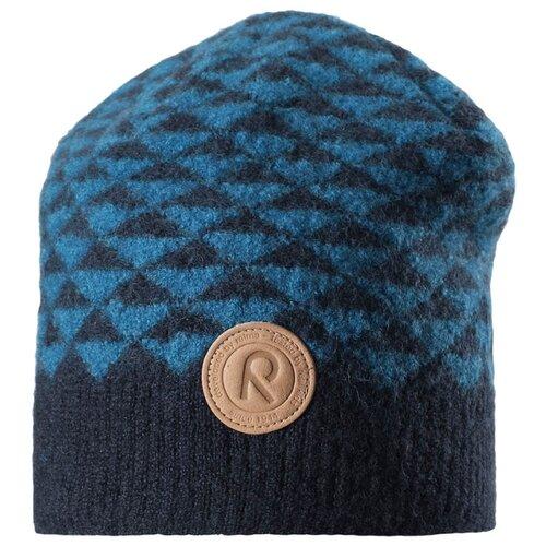 Шапка бини Reima размер 50, синийГоловные уборы<br>