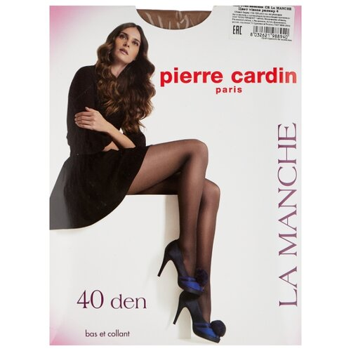 Колготки Pierre Cardin La Manche, Basic Line 40 den, размер IV-L, visone (бежевый)