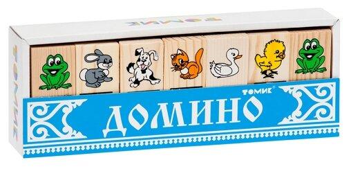 Купить Настольная игра Томик Домино Животные по низкой цене с доставкой из Яндекс.Маркета (бывший Беру)