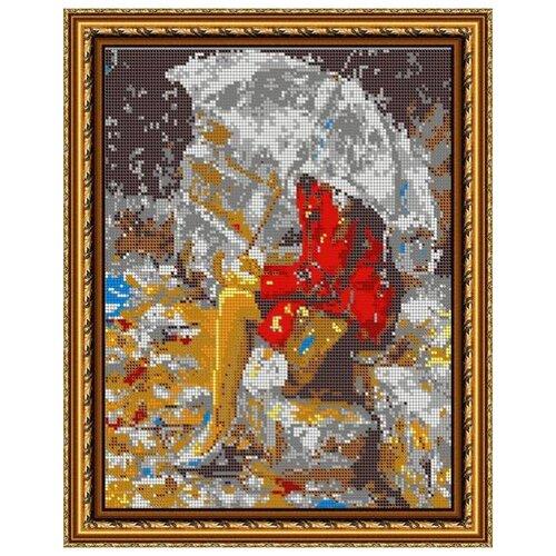 Купить Диамант Набор алмазной вышивки Под дождем (ДК-449П) 30х38 см, Алмазная вышивка