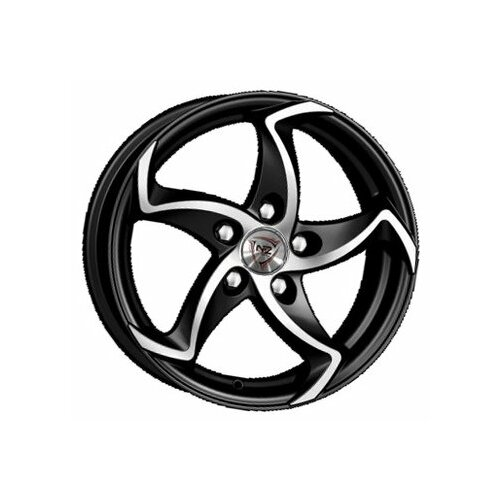Фото - Колесный диск NZ Wheels F-17 5.5x13/4x98 D58.6 ET35 BKF колесный диск nz wheels sh665 5 5x14 4x98 d58 6 et35 bkf