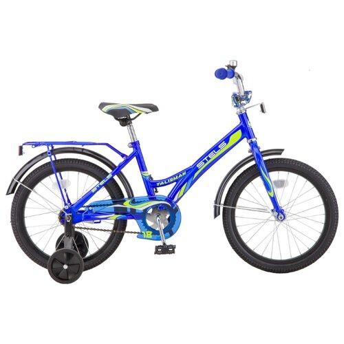 Фото - Детский велосипед STELS Talisman 18 Z010 (2018) синий 12 (требует финальной сборки) городской велосипед stels navigator 300 lady 28 z010 2018 фиолетовый 20 требует финальной сборки