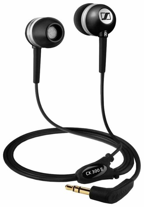 Купить Наушники Sennheiser CX 300-II black по низкой цене с доставкой из Яндекс.Маркета (бывший Беру) - Лучшие гаджеты-2020