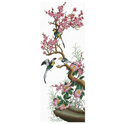 Купить Белоснежка Набор для вышивания Цветущая сакура 24 x 64 см (2177), Наборы для вышивания