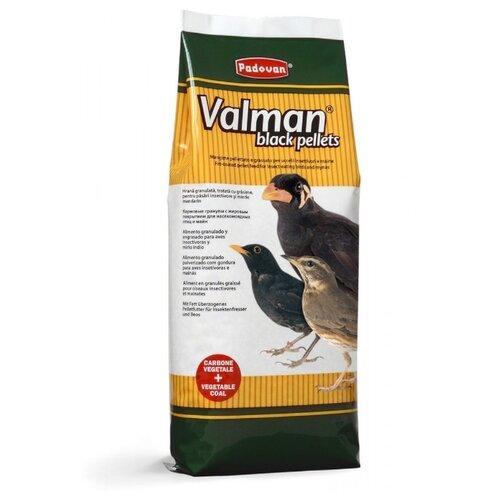 Padovan корм Valman Black pellets для насекомоядных птиц 1000 г
