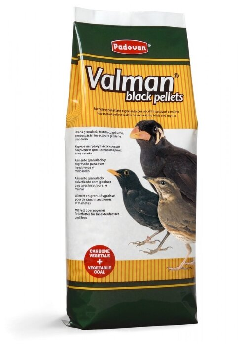 Padovan корм Valman Black pellets для насекомоядных