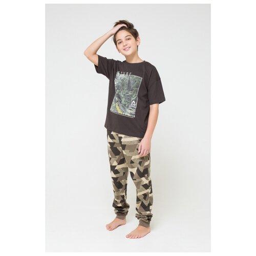 Купить Комплект одежды CUBBY размер 164, темно-коричневый/бежево-зеленый, Комплекты и форма