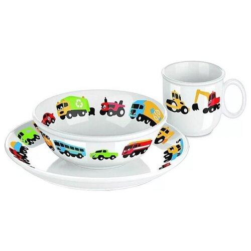 Набор для завтрака Tescoma Bambini Машинки 3 предмета набор для завтрака osz disney cars принцессы 3 предмета