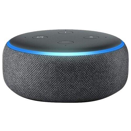 Умная колонка Amazon Echo Dot 3rd Gen, charcoal