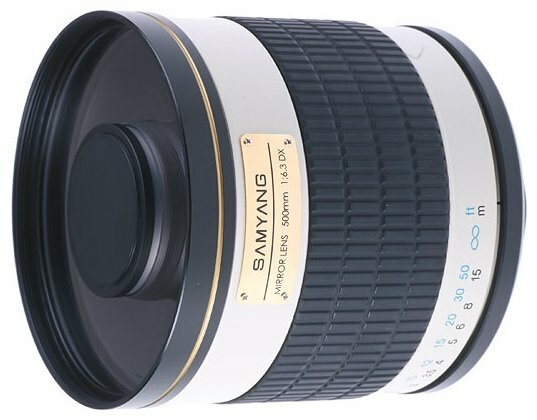 Объектив Samyang 500mm f/6.3 MC IF Mirror 4/3