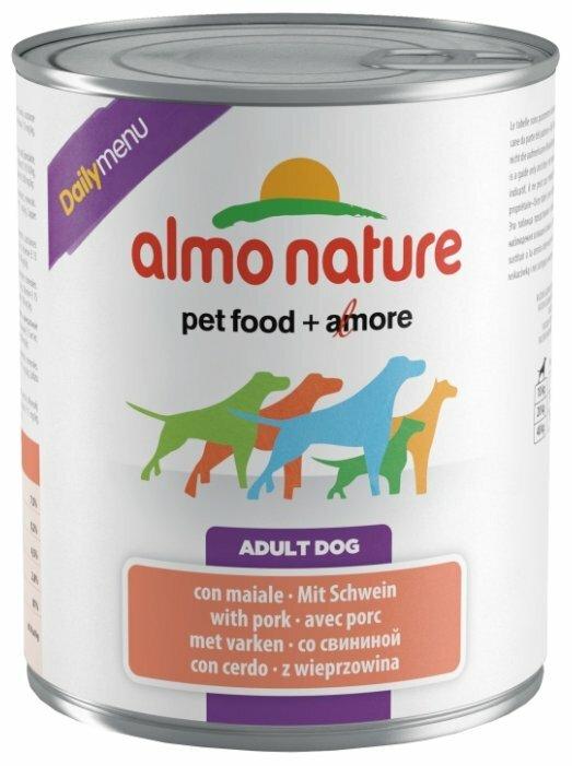 Корм для собак Almo Nature Daily Menu свинина 800г