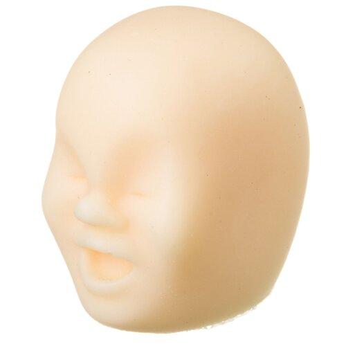 Купить Игрушка-мялка BONDIBON Чудики стрессбол Мимик белый, Игрушки-антистресс