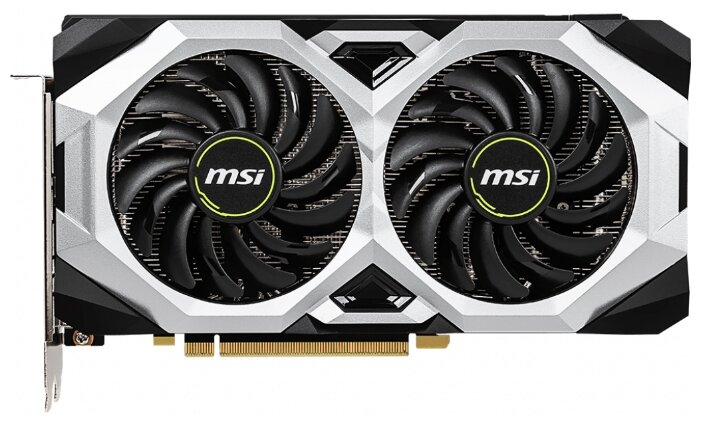 MSI Видеокарта MSI GeForce RTX 2070 1410MHz PCI-E 3.0 8192MB 14000MHz 256 bit HDMI HDCP VENTUS