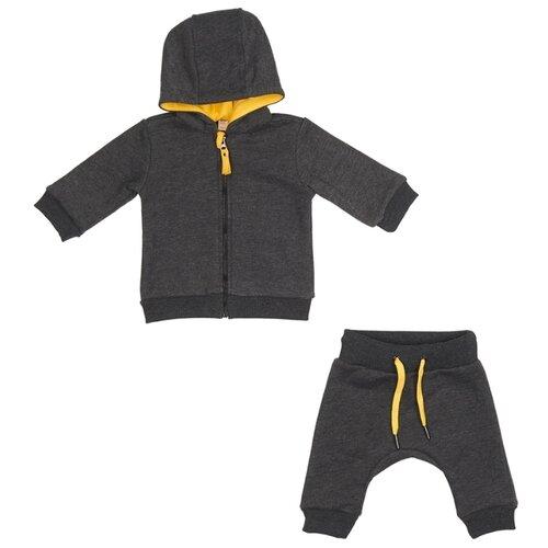 Комплект одежды ЁМАЁ размер 92, графитКомплекты<br>