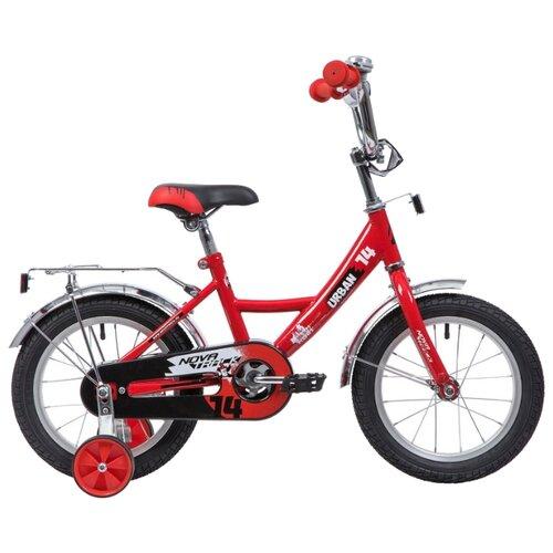 Детский велосипед Novatrack Urban 14 (2019) красный (требует финальной сборки)