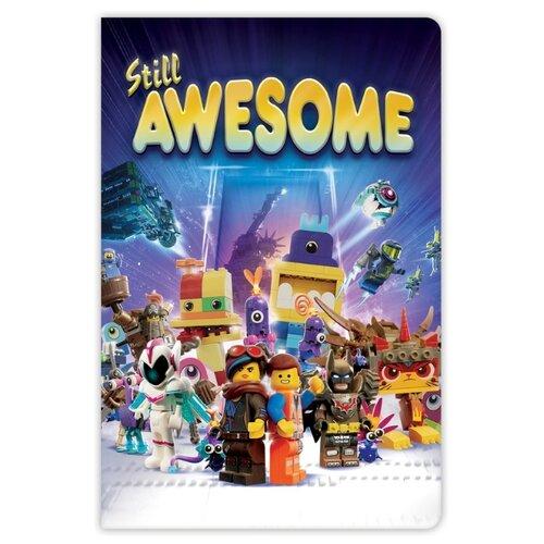 Блокнот LEGO Movie 2 Epic Space Opera 52292 21x14 см (96 листов) канцелярия lego книга для записей movie 2 duplo линейка 96 листов