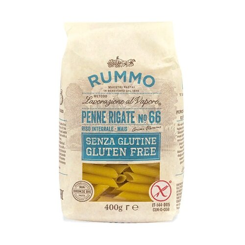 RUMMO Макароны Penne rigate №66 gluten free, 400 г