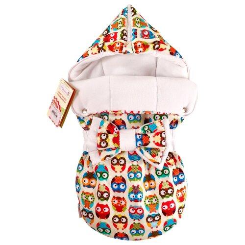 Конверт-мешок СуперМаМкет JustCute демисезонный с бантом 68 см ученые совыКонверты и спальные мешки<br>