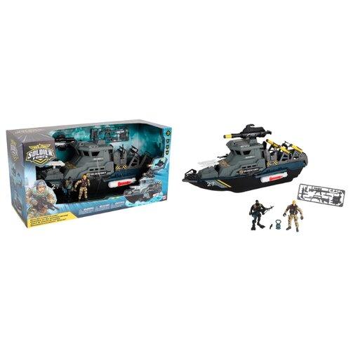 Купить Игровой набор Chap Mei Солдаты военно-морского флота на линкоре 545011, Игровые наборы и фигурки