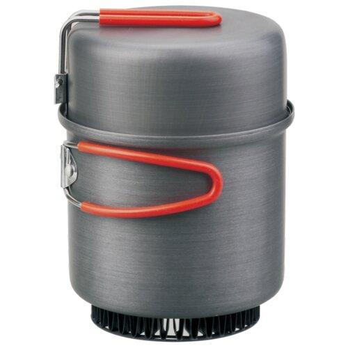 Набор туристической посуды ECOS CW011, 2 шт. черный/красный