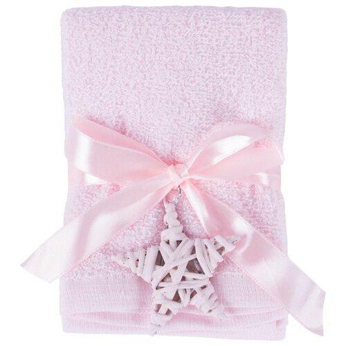 Arya Набор полотенец Poly 4 шт. для рук 30х30 см розовый