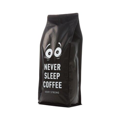 Кофе в зернах Never Sleep Coffee, смесь арабики и робусты, 1 кгКофе в зернах<br>