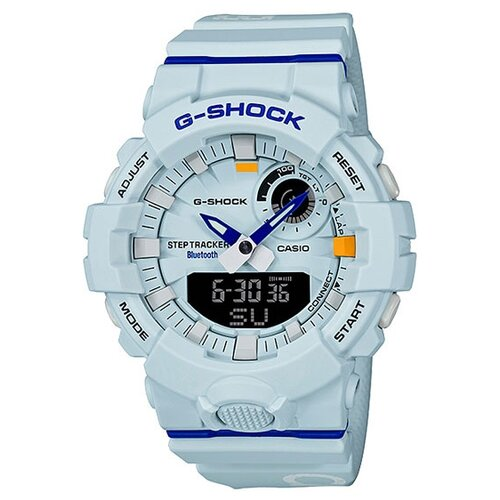 Часы CASIO G-SHOCK GBA-800DG-7A светло-голубой casio часы casio ga 120a 7a коллекция g shock