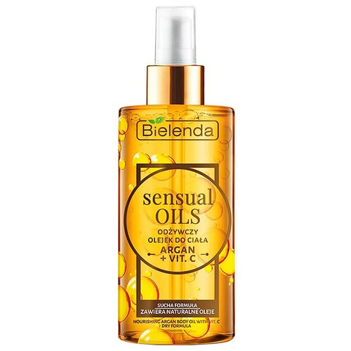 Масло для тела Bielenda Sensual Oils аргана + витамин C, 150 мл