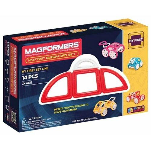 Фото - Конструктор Magformers My First 63145/702006 Красный багги конструктор magformers my first 63144 желтый багги