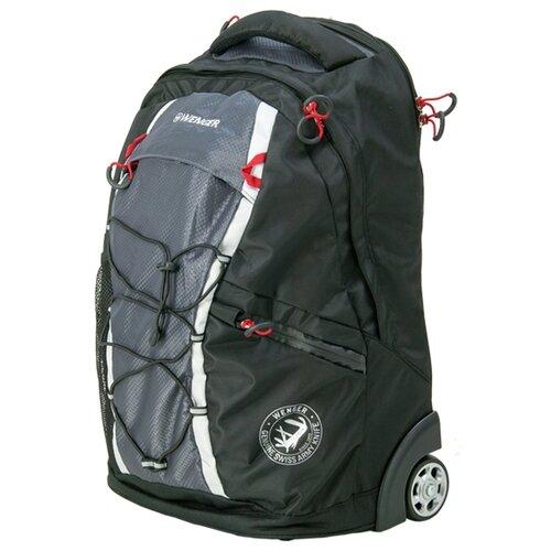 Чемодан-рюкзак WENGER 3053204461 35 л, черный/серыйЧемоданы<br>
