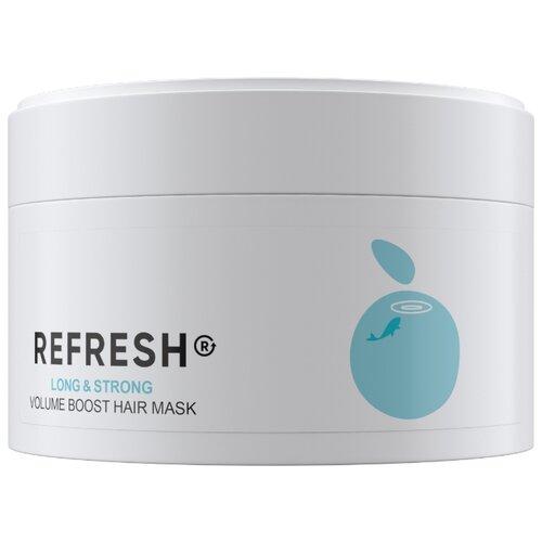 Фото - REFRESH Маска для максимального объема волос Long&Strong, 200 мл refresh маска для максимального объема волос long