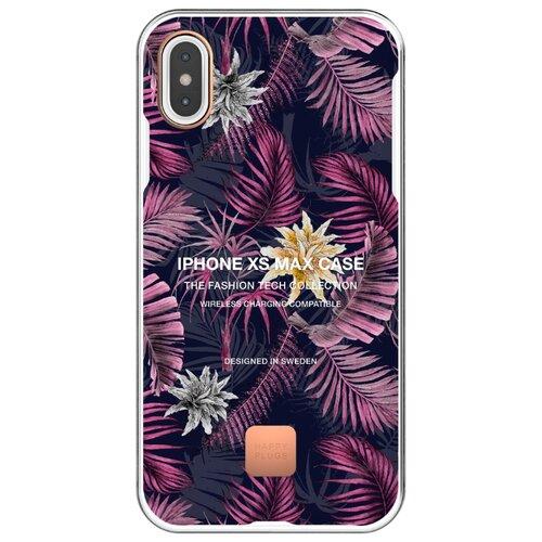 Чехол-накладка Happy Plugs 9341 для Apple iPhone Xs Max hawaiian nights чехол накладка happy plugs 9337 для apple iphone xs max botanica exotica