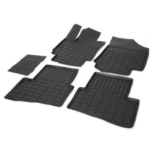 Комплект ковриков RIVAL 62310001 Hyundai Creta 5 шт. черный