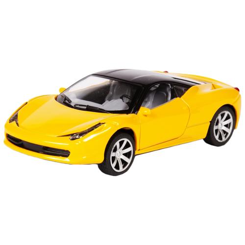 Купить Легковой автомобиль Handers Ferrari (HAC1602-105) 1:32 12 см желтый, Машинки и техника