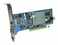 Видеокарта GIGABYTE Radeon 9250 240Mhz AGP 128Mb 400Mhz 128 bit TV