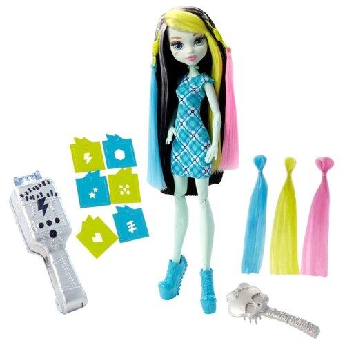 Фото - Кукла Monster High Высоковольтные волосы Фрэнки Штейн, 26 см, FDT57 mattel monster high кукла призрачно clawdeen wolf