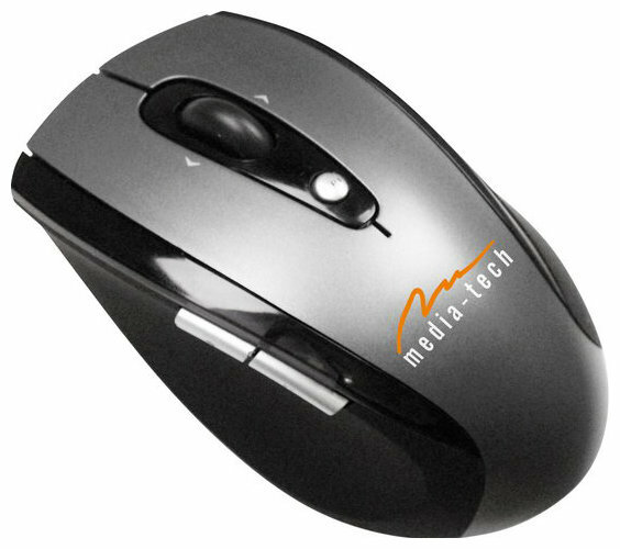 Мышь Media-Tech MT1047 Silver-Black USB