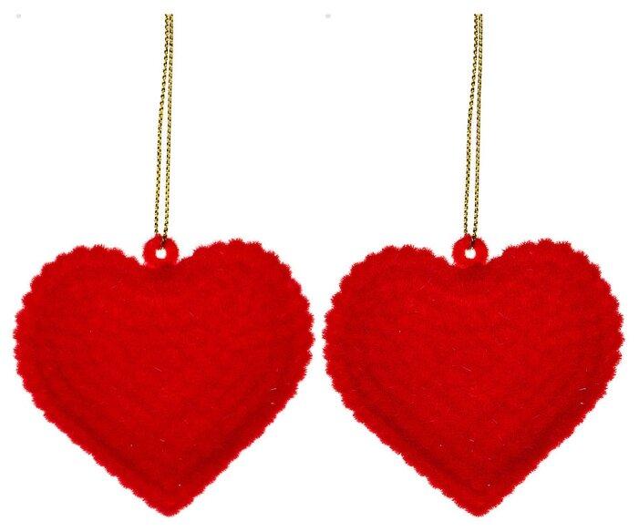 Украшение Lefard Набор Сердечки 6cm 866-121