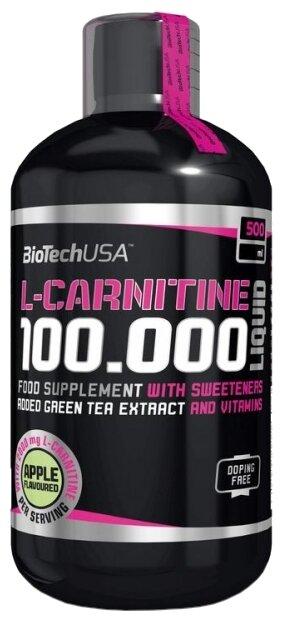 L-Carnitine 100000 мг 500 мл (BioTech) яблоко