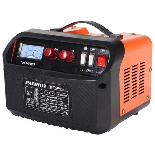 Пуско-зарядное устройство PATRIOT BCT-30 Start черный/оранжевый зарядное