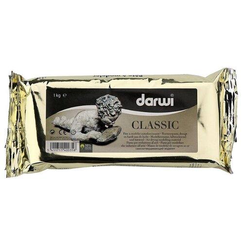 Купить Полимерная глина DARWI Classic белая, 1 кг, Глина