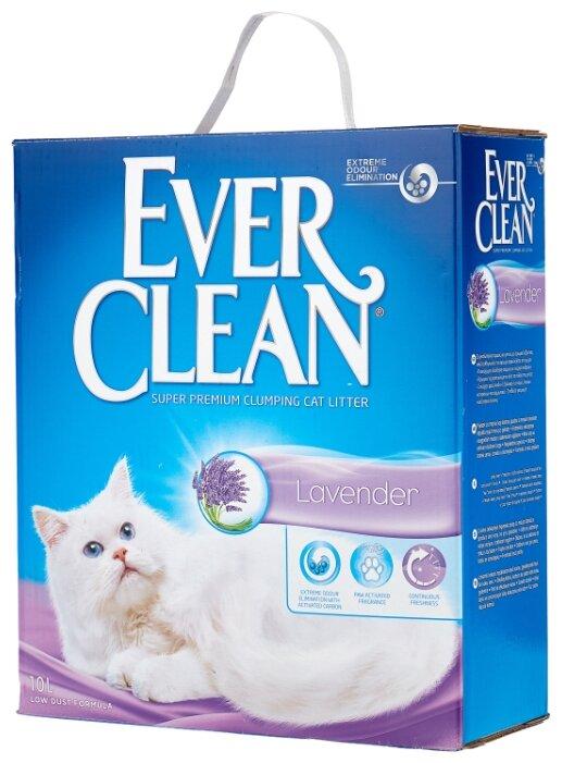 Комкующийся наполнитель Ever Clean Lavander 10 л