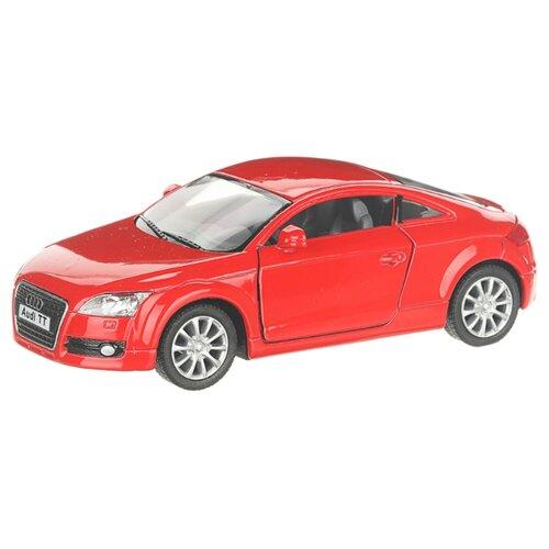 Детская инерционная металлическая машинка с открывающимися дверями, модель Audi ТТ 2008, красный, Serinity Toys, Машинки и техника  - купить со скидкой