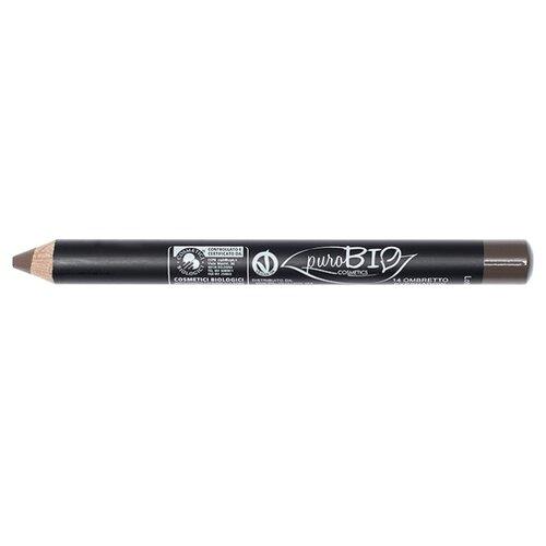 PuroBIO Тени для век в карандаше 14 темно-коричневыйТени<br>