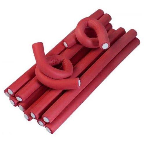 Фото - Бигуди-бумеранги Sibel Superflex Short 4222109 (13 мм) 12 шт. красный мягкие бигуди sibel foam 4251933 34 мм 5 шт желтый